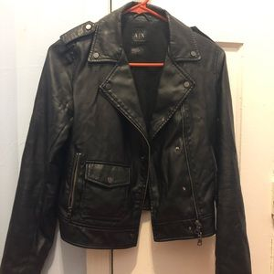 A|X leather jacket (authentic)